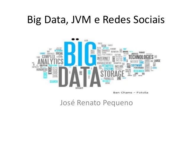 Big Data, JVM e Redes Sociais José Renato Pequeno