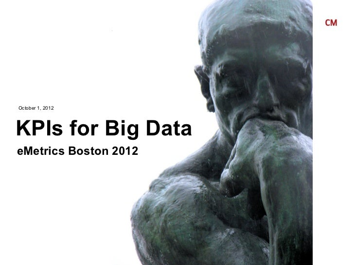 October 1, 2012KPIs for Big DataeMetrics Boston 2012© 2010 Critical Mass, Inc. All Rights Reserved                        ...