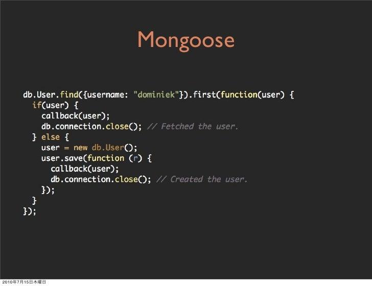 Mongoose     2010   7   15