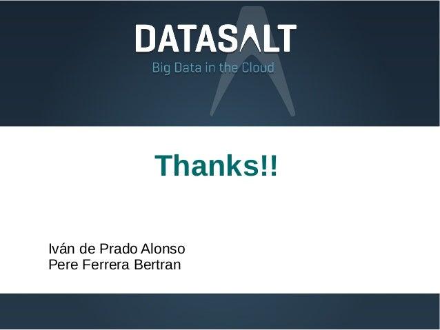 Thanks!!Iván de Prado AlonsoPere Ferrera Bertran
