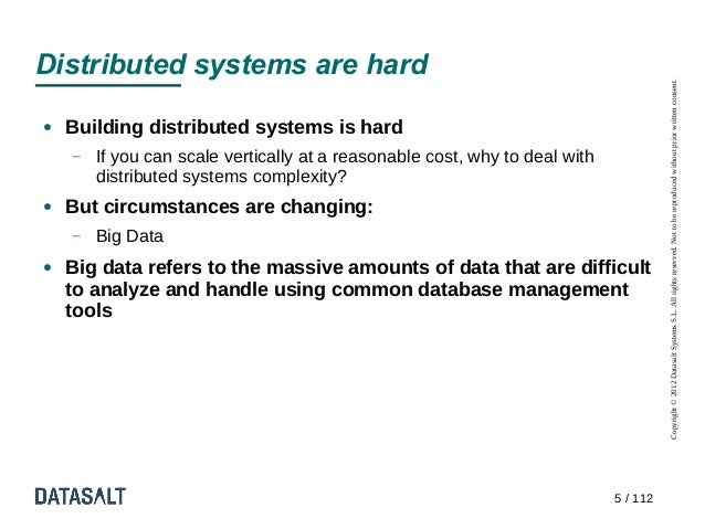 Distributed systems are hard                                                                                       Copyrig...