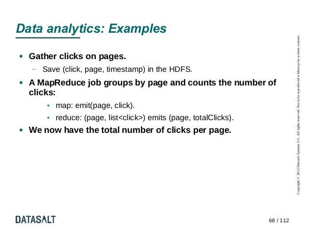 Data analytics: Examples                                                                                 Copyright © 2012 ...