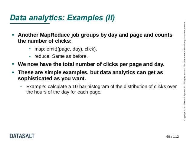 Data analytics: Examples (II)                                                                                      Copyrig...