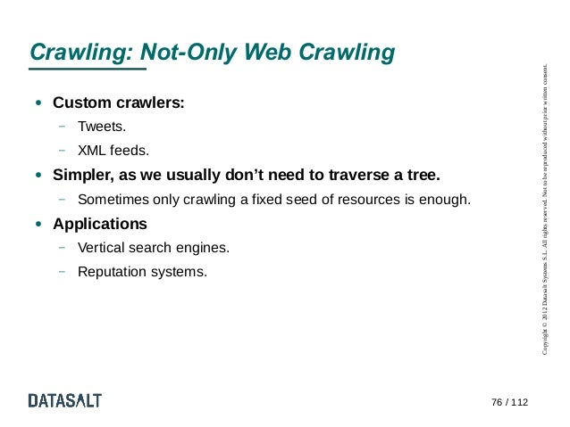 Crawling: Not-Only Web Crawling                                                                                  Copyright...