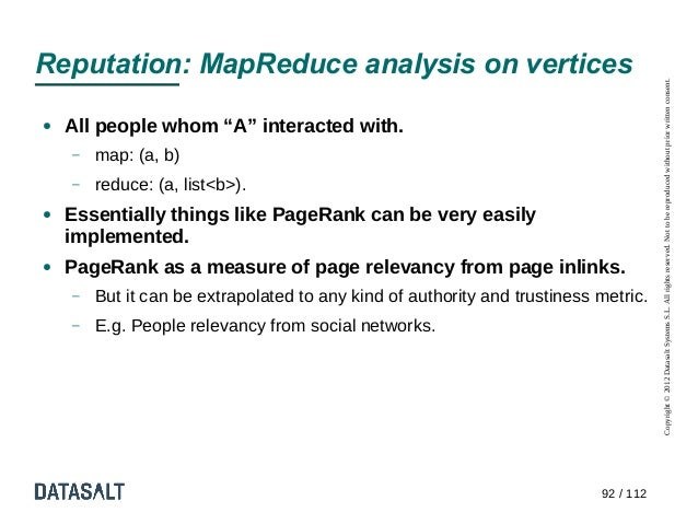 Reputation: MapReduce analysis on vertices                                                                                ...