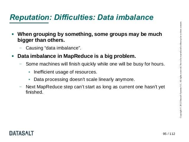 Reputation: Difficulties: Data imbalance                                                                                  ...