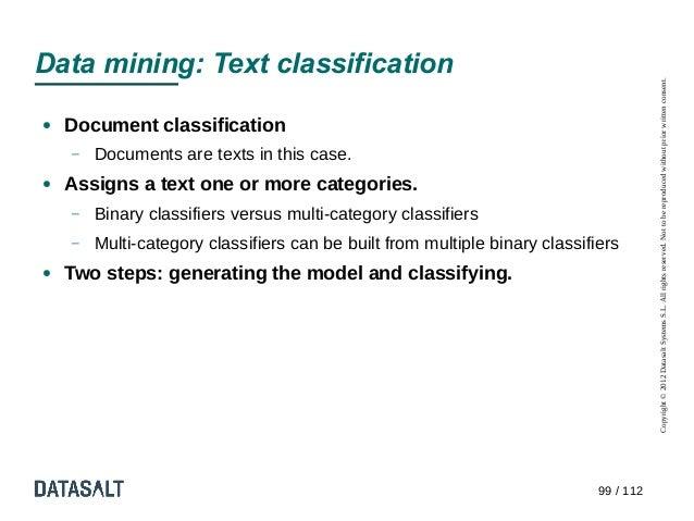 Data mining: Text classification                                                                                        Co...