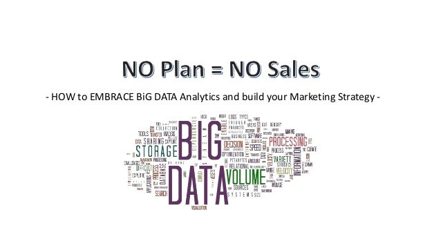 - HOW to EMBRACE BiG DATA Analytics and build your Marketing Strategy -