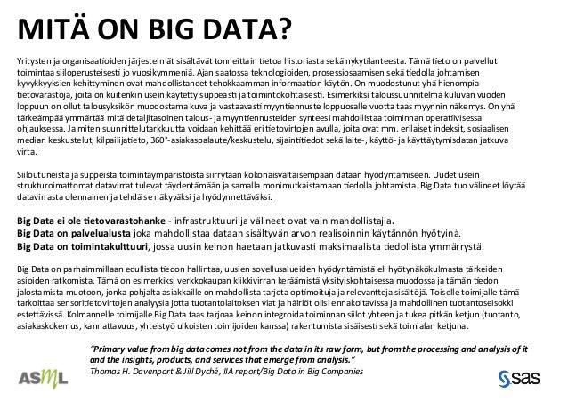 Big data mita se on 10 casea Slide 2