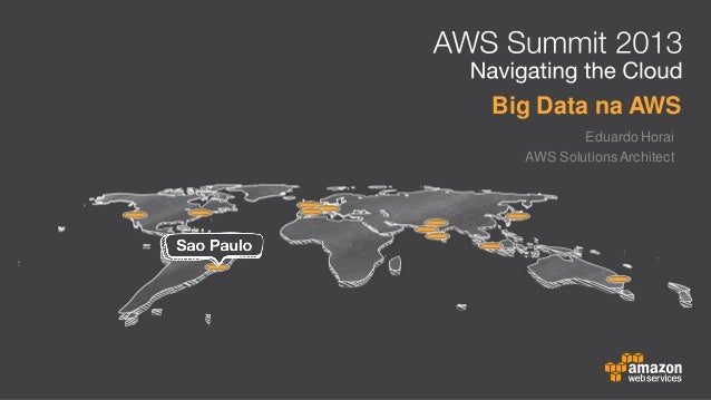 Big Data na AWS Eduardo Horai AWS Solutions Architect
