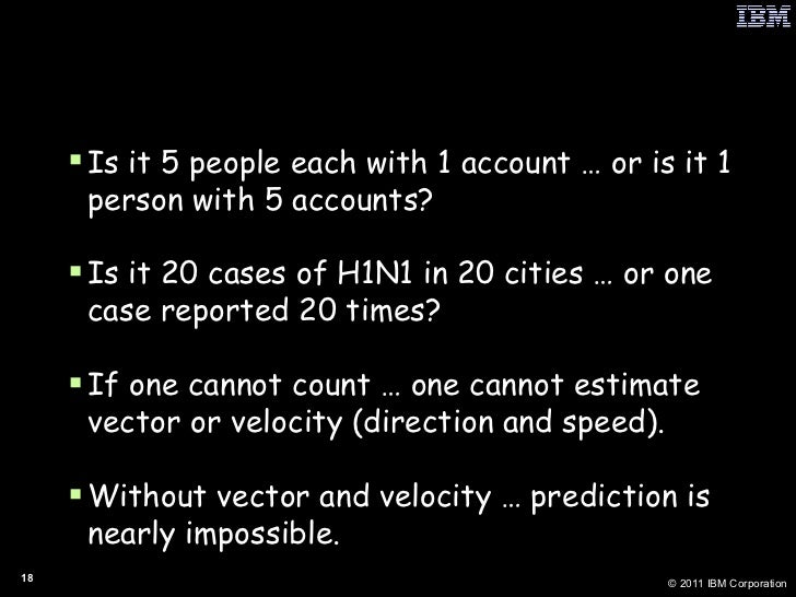 """One Form of Context is """"Expert Counting"""" <ul><li>Is it 5 people each with 1 account … or is it 1 person with 5 accounts?  ..."""