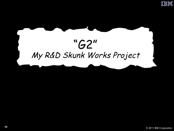""""""" G2"""" My R&D Skunk Works Project"""