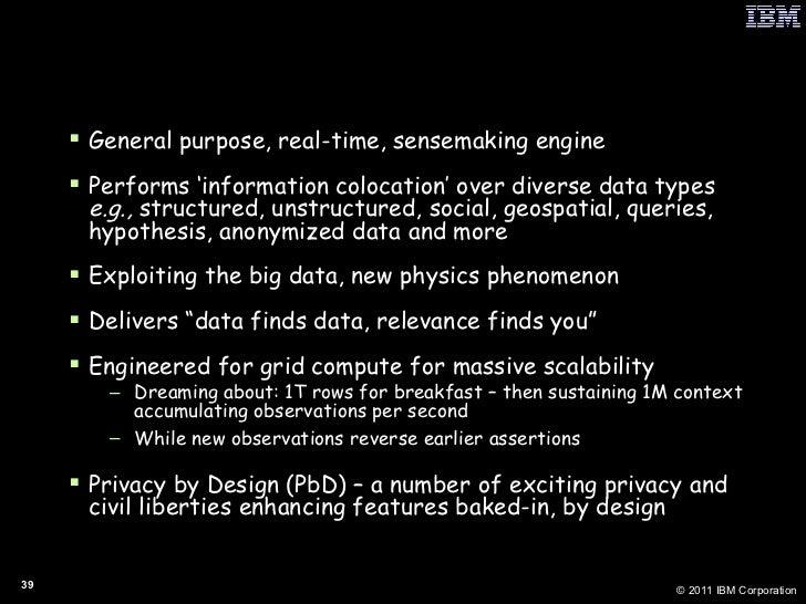 My G2 Goals <ul><li>General purpose, real-time, sensemaking engine </li></ul><ul><li>Performs 'information colocation' ove...