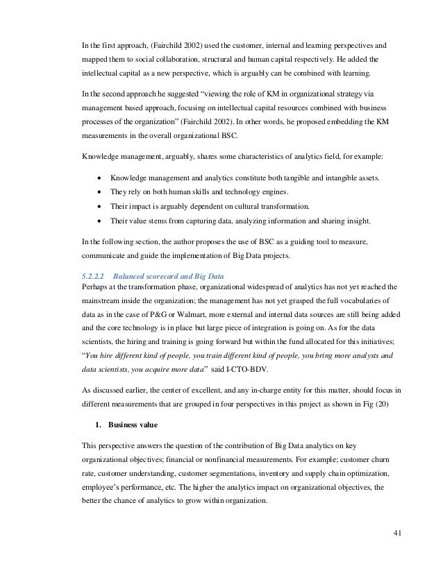 Dissertation proposal on performance management