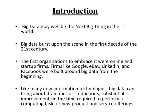 Big  data ppt Slide 3
