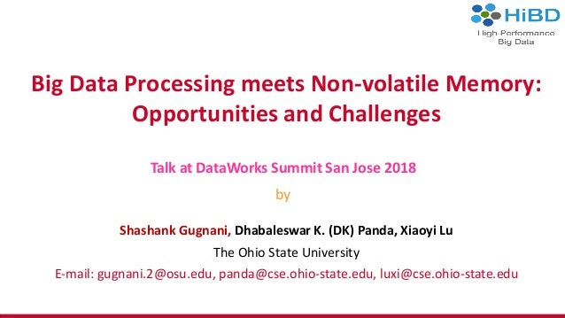 Big data processing meets non-volatile memory: opportunities and chal…