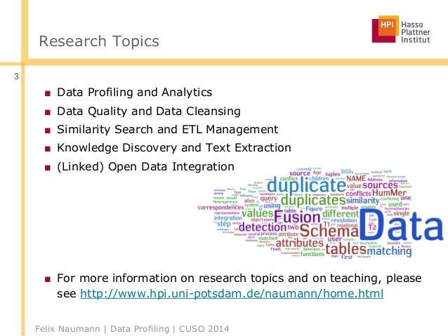 Big Data Profiling  Slide 3