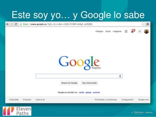 Este soy yo… y Google lo sabe
