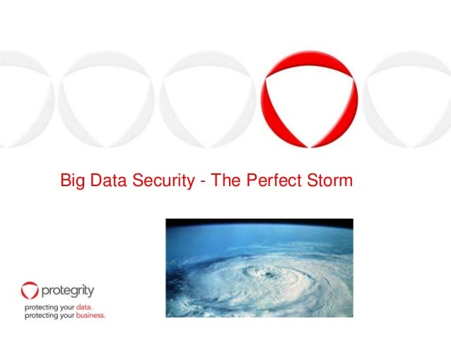 Big Data Security - The Perfect Storm