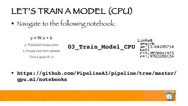 High Performance TensorFlow in Production - Big Data Spain - Madrid -…