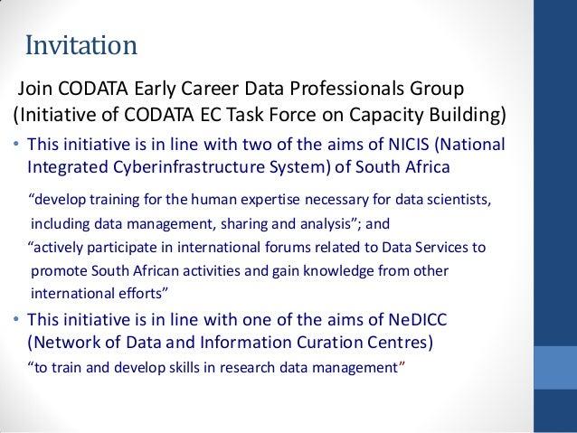 Codata international training workshop in big data for science for re invitation stopboris Choice Image