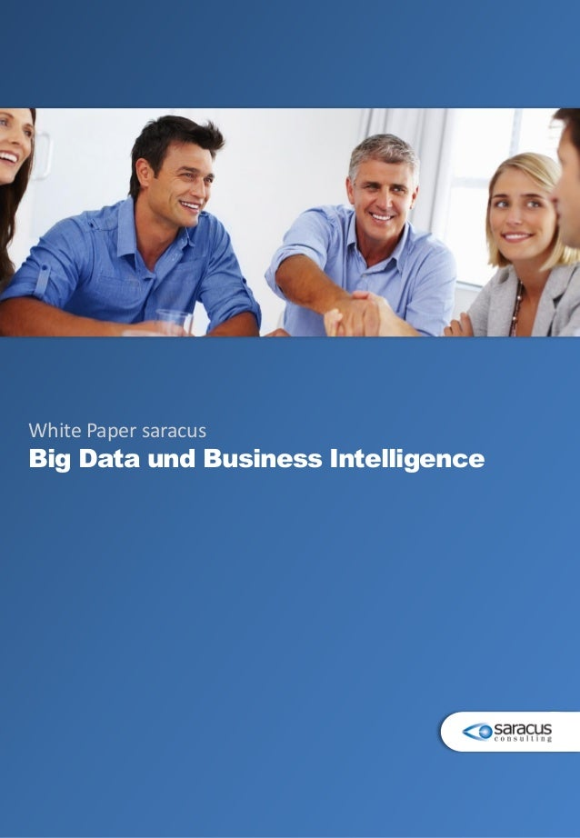 White Paper saracus Big Data und Business Intelligence