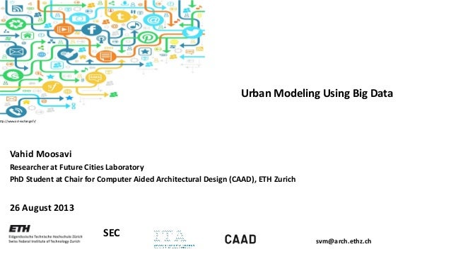 Urban Modeling Using Big Data  http://www.ad-exchange.fr/  Vahid Moosavi Researcher at Future Cities Laboratory PhD Studen...