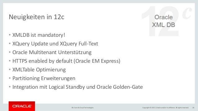 Heterogene Daten Strukturen In Der Oracle Datenbank