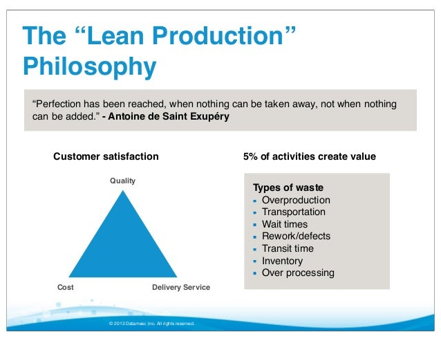 Lean Production Meets Big Data: A Next Generation Use Case