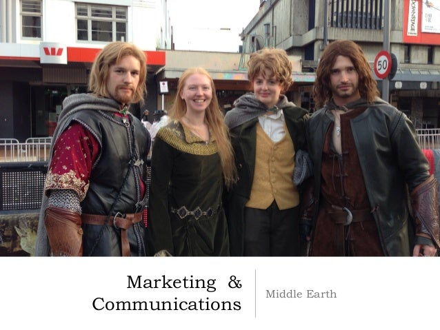 Marketing &                 Middle EarthCommunications
