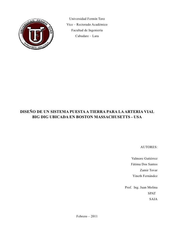 Universidad Fermín Toro                   Vice – Rectorado Académico                      Facultad de Ingeniería          ...