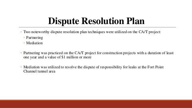 project complexity case study 28 dispute resolution plan maxwellsz