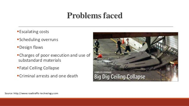 Risk Assignment: Boston Big Dig Project Harvard Case ...