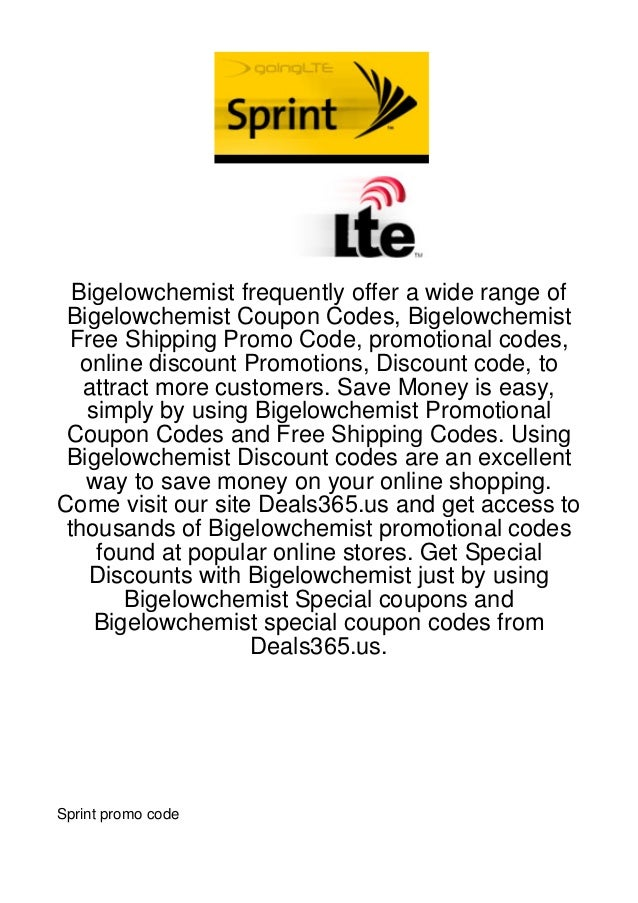 Bigelowchemist frequently offer a wide range of Bigelowchemist Coupon Codes, Bigelowchemist  Free Shipping Promo Code, pro...