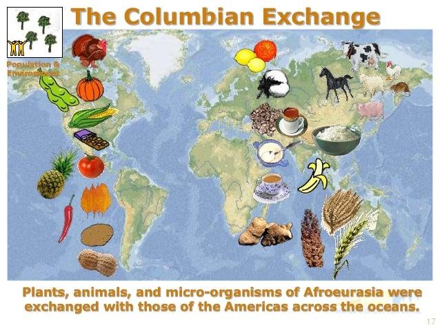 Columbian exchange crops