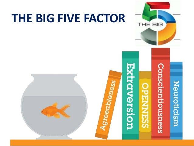 big five factor