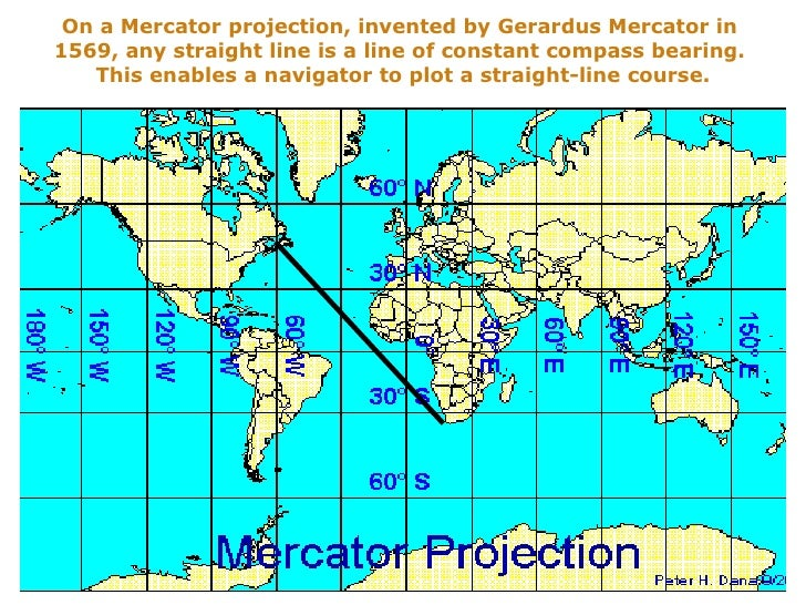 define map projection An equal-area projection map of the globe oceans are distorted in order to minimize the distortion of the continents sanson-flamsteed projection, sinusoidal projection an equal-area map projection showing parallels and the equator as straight lines and other meridians as curved used to map.