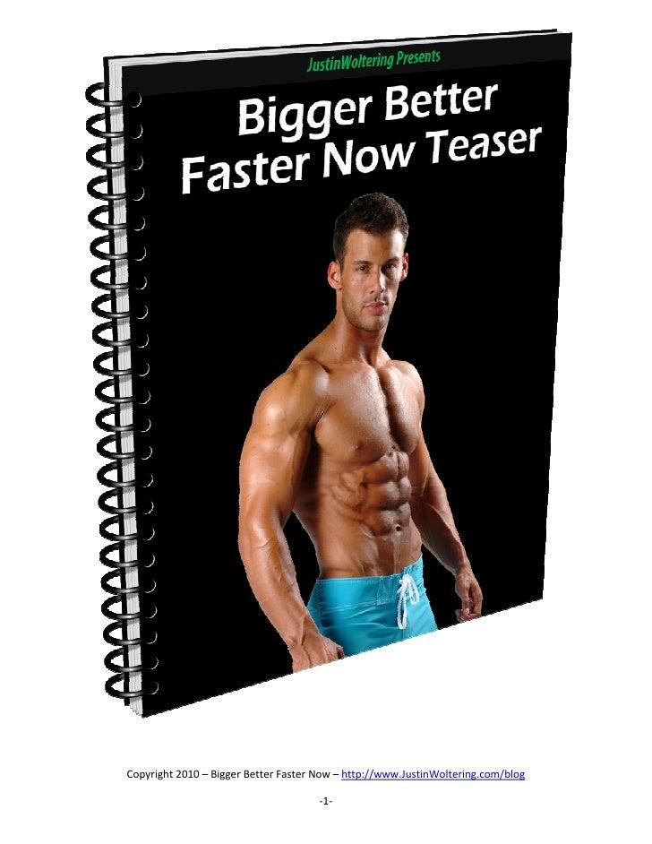 Free Bodybuilding Ebook