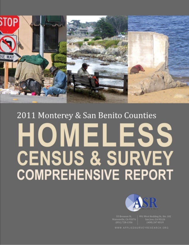 Acknowledgements 2011 Monterey & San Benito Counties Homeless Census and Survey ii © Applied Survey Research, 2011