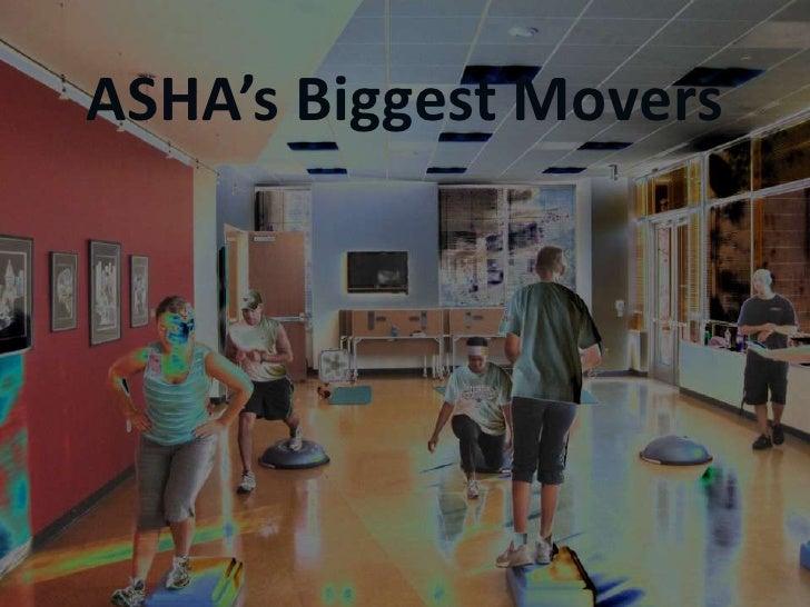 ASHA's Biggest Movers<br />