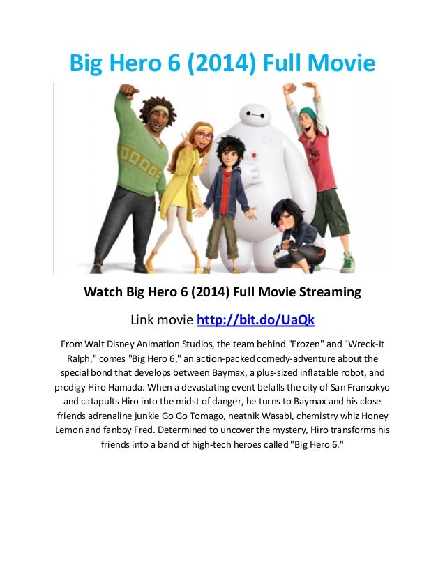 big hero 6 full movie stream online free