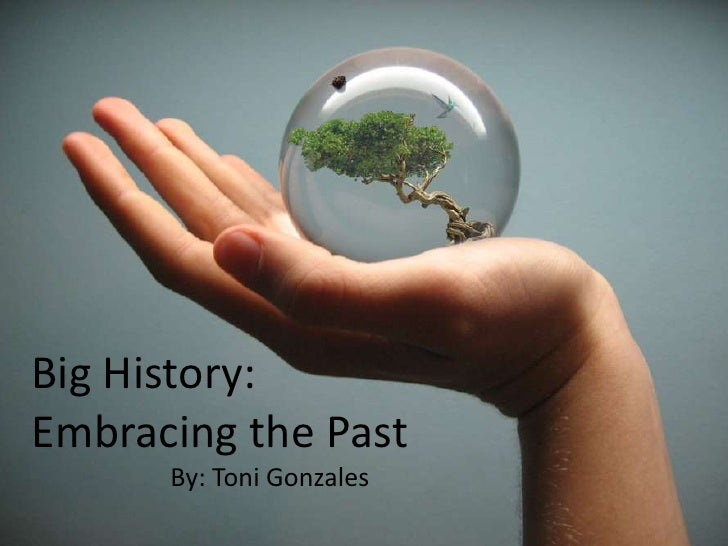 Big History:<br />Embracing the Past<br />By: Toni Gonzales<br />