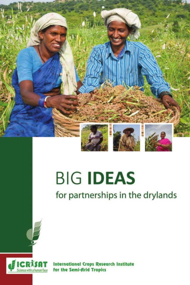 Sciencewithahumanface Sciencewithahumanface BIGIDEAS ICRISAT has identified the biggest hurdles and opportunities critical...