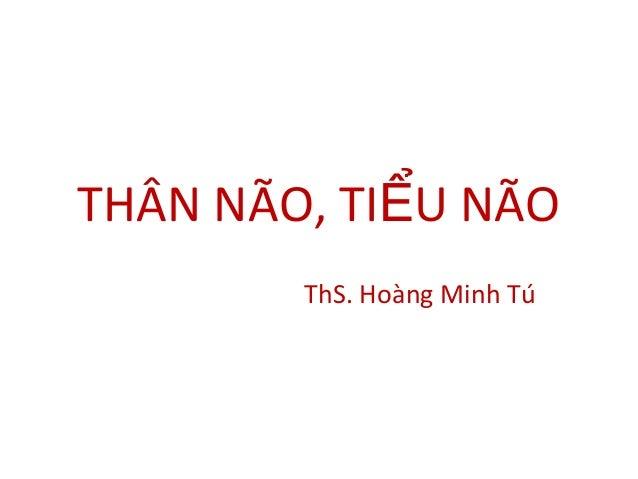 THÂN NÃO, TI U NÃOỂ ThS. Hoàng Minh Tú