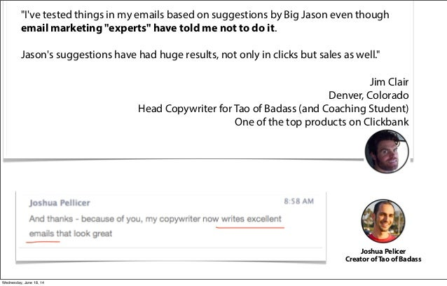 email marketing based actual results    not guesswork