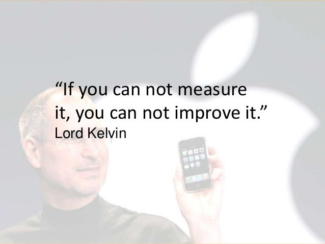 """""""If you can not measure it, you can not improve it."""" Lord Kelvin  © 2013 Argus Insights, Inc. Confidential: Do Not Distrib..."""
