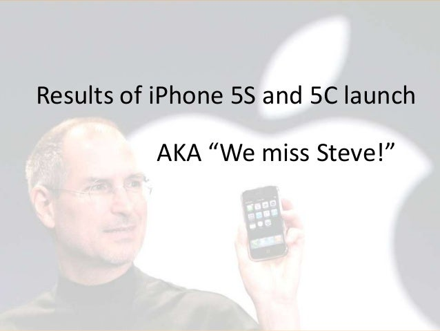 """Results of iPhone 5S and 5C launch AKA """"We miss Steve!""""  © 2013 Argus Insights, Inc. Confidential: Do Not Distribute  Page..."""