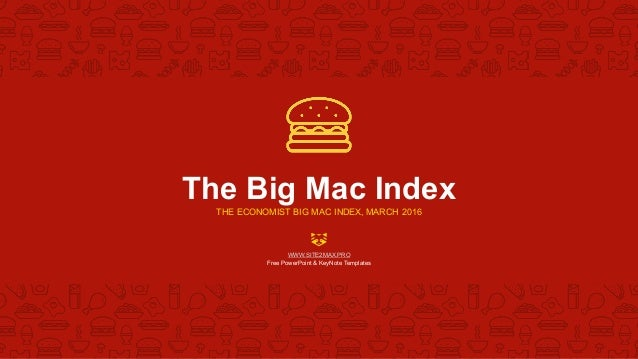 bigmac index powerpoint template free, Powerpoint templates