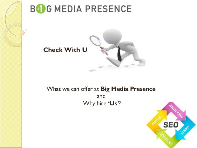 Big media presence Slide 2