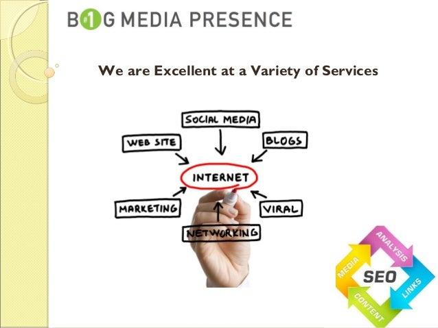 Big media presence Slide 3